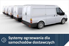 Ogrzewanie postojowe Webasto do samochodów dostawczych