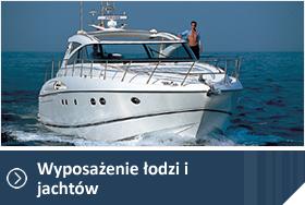 Wyposażenie łodzi i jachtów